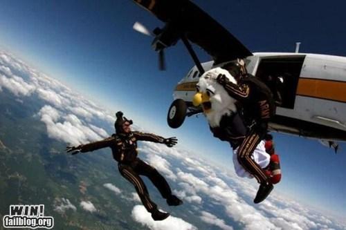america BAMF eagle merica skydiving - 6346294272