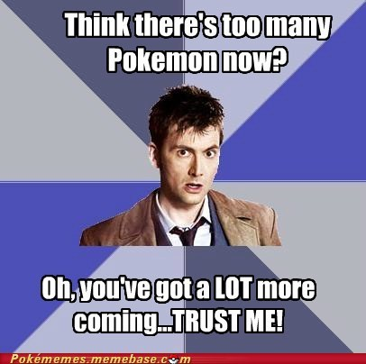 best of week,doctor who,duck and cover,fifth generation,meme,Memes,new pokemon
