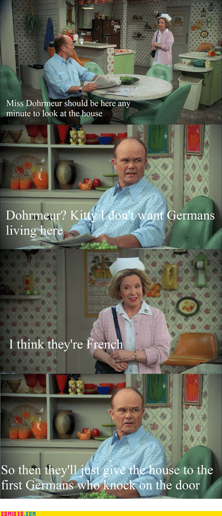 french germans red foreman surrender that 70s show TV - 6346467840