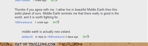 Lord of the Rings middle earth new zealand youtube - 6347919872