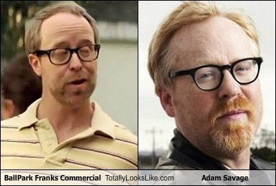 adam savage,ballpark franks,celeb,commercial,funny,TLL