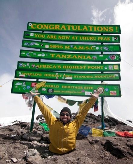inspirational motivationa,Inspirational Motivational,kilimanjaro,legless man