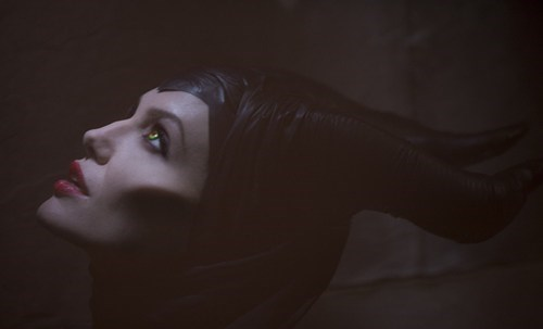 Angelina Jolie,first look,Maleficent