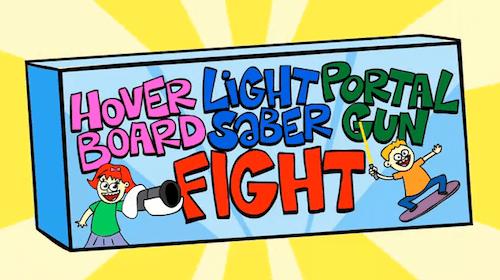 college humor hover board light saber Memes portal gun - 6348319744