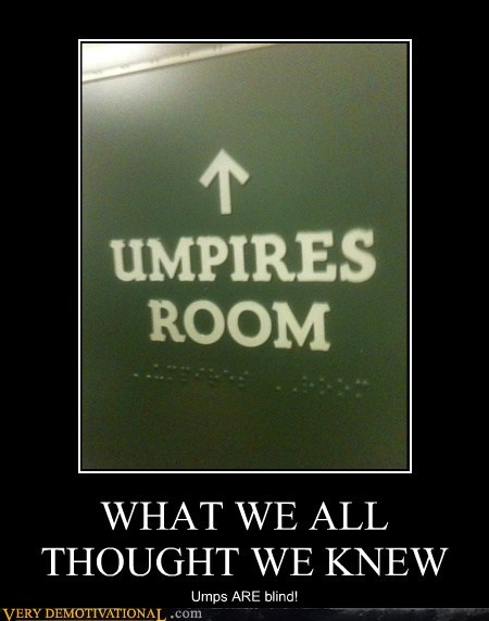 blind braille hilarious sports umpires - 6348336384