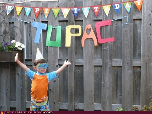 birthday holographic tupac kids tupac wtf - 6348455936