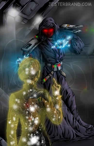 Fan Art scifi Star Trek star wars - 6348551168