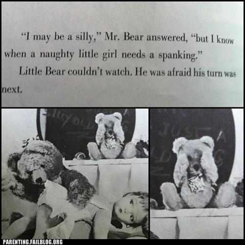 bear naughty girl spanking - 6348677632