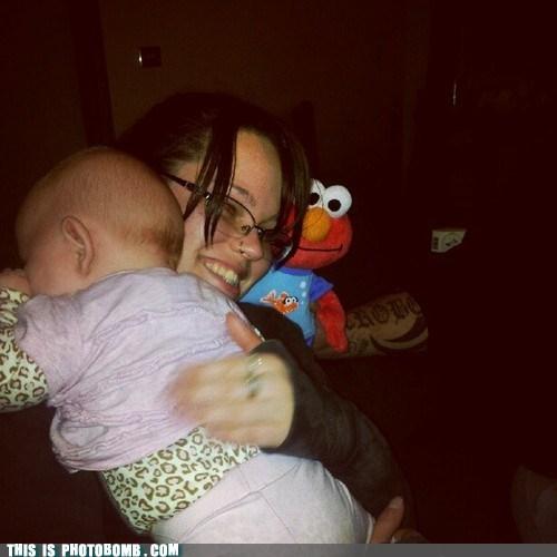 baby creepy creepy sneakers elmo Sesame Street - 6348943616