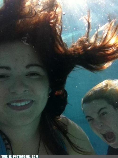 Good Times swimming underwater yell - 6348952320
