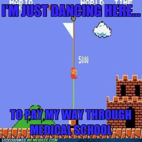 easy money,mario,medical school,points,poledance