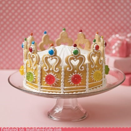 cake candy cookies crown epicute icing - 6349246976