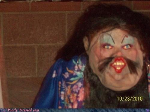 costume creepy halloween mask