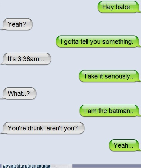 batman,sms,text message,texting,the dark knight,the dark knight rises