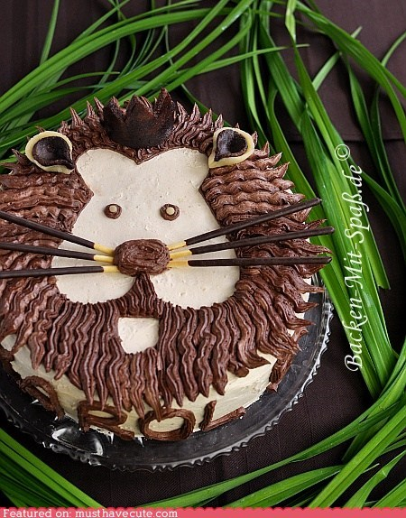cake crown epicute jungle lion Pocky - 6349390080