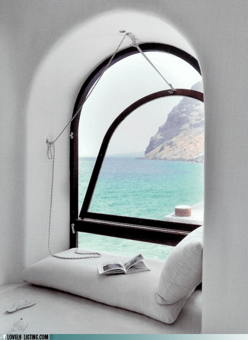 best of the week,nook,ocean,Tropical,view,water,window