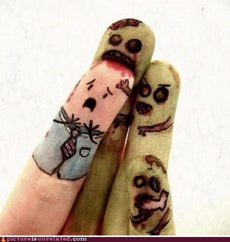 best of week,brains,finger nails,wtf,zombie