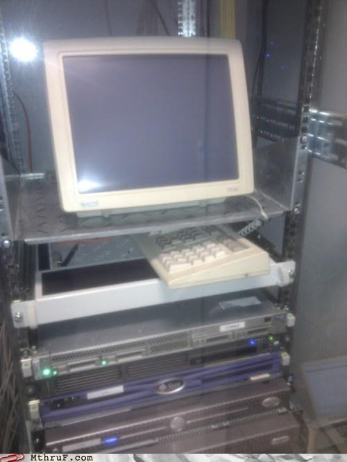 old computer old desktop