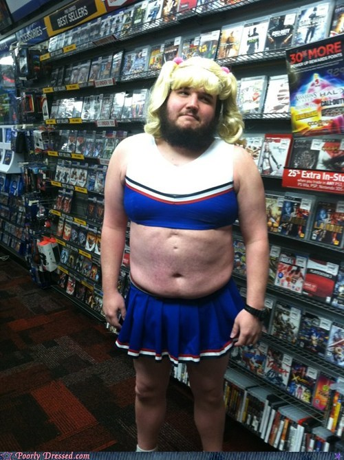cosplay cross dressing moobs nerd nerdgasm - 6349596416