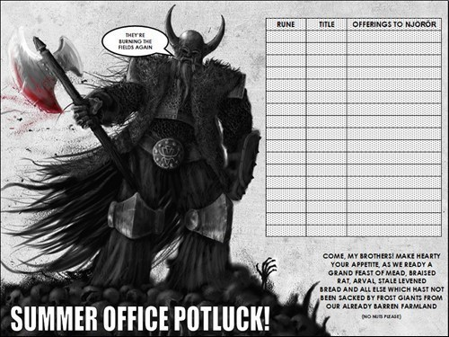 vikings warriors potluck monday thru friday g rated - 6349597440