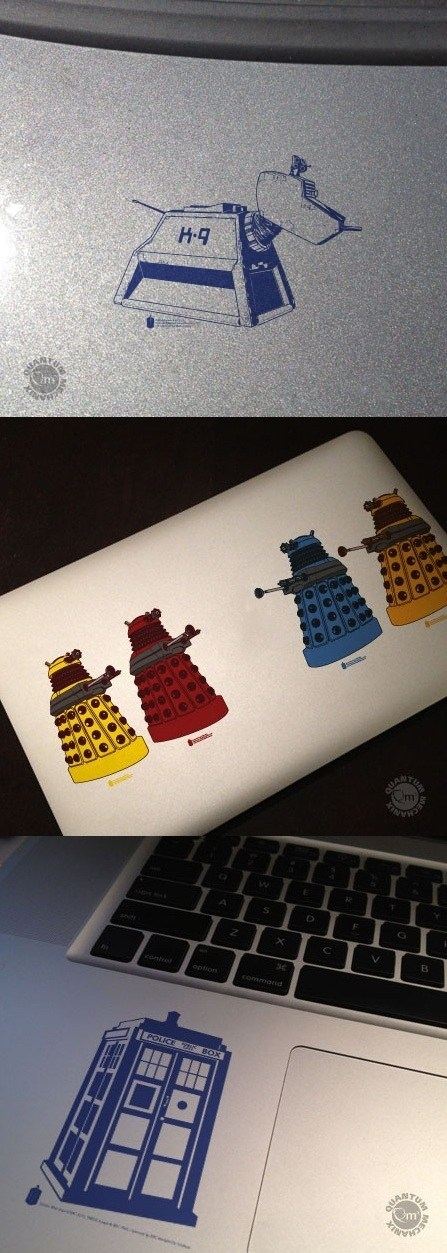 accessories doctor who It Came From the It Came From the Interwebz scifi stickers - 6349700096