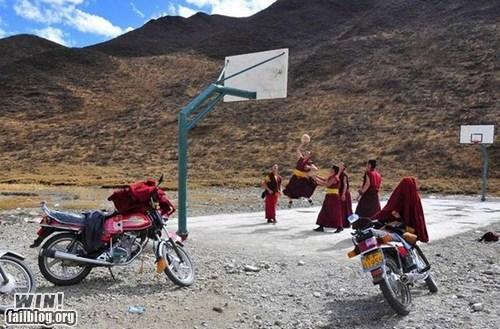 basketball fun monks photography sports - 6349717248