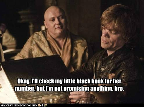 a solid a song of ice and fire bro Game of Thrones number peter dinklage tyrion lannister varys - 6349779712