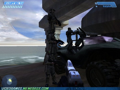 combat evolved,halo,having fun,marine stacking