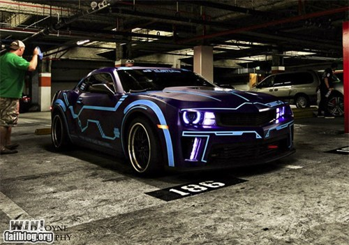 car design drool worthy nerdgasm tron - 6349971968
