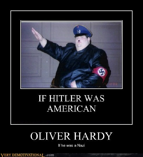fat guy,hilarious,laurel and hardy,nazi,wtf