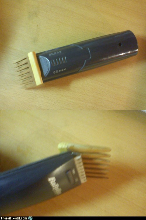 Hair trimmer fix