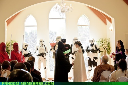 cosplay scifi star wars wedding - 6350186752