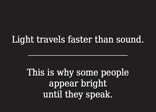 speed of light speed of sound stupid people - 6350623488
