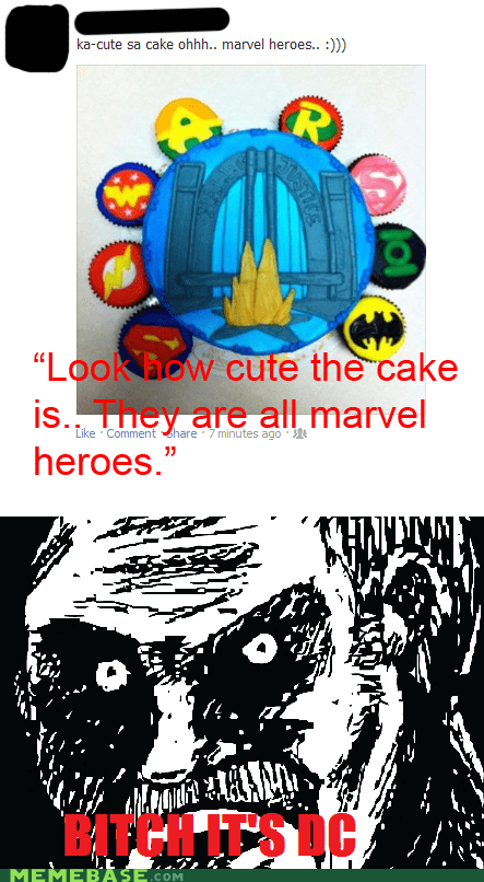 cute DC marvel nerd rage Super-Lols - 6351256832