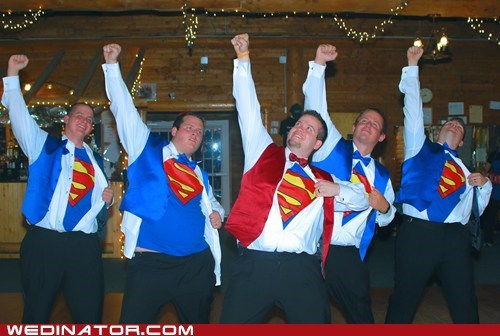 Groomsmen superheroes shirts superman - 6351320320