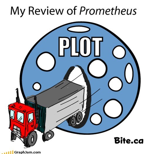best of week,plot holes,prometheus,review,trucks