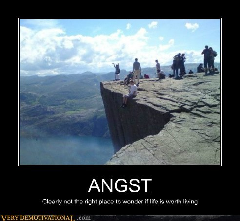 angst bad idea cliff Terrifying - 6351570688