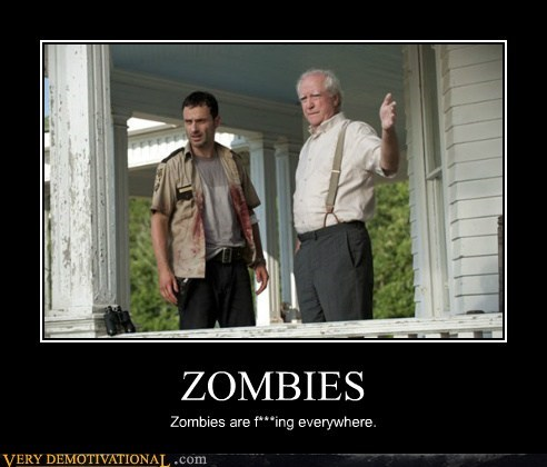 everywhere Pure Awesome The Walking Dead zombie - 6352075776