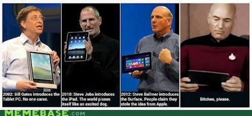apple ipad Memes microsoft picard Star Trek star wars surface tablet - 6352182784