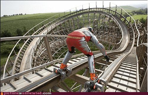 rollercoasters,Skates,stunts,wtf
