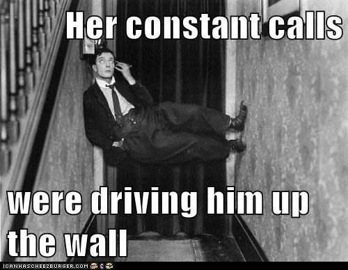 buster keaton,phone,wall,woman