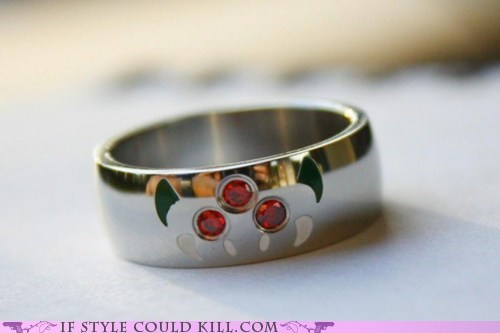 cool accessories geek chic Metroid ring of the day rings video games - 6352613632