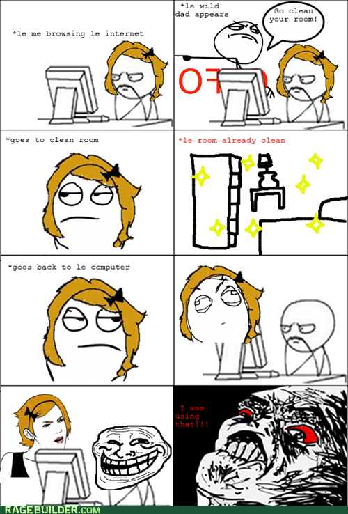 gtfo parenting Rage Comics raisin rage - 6352639232