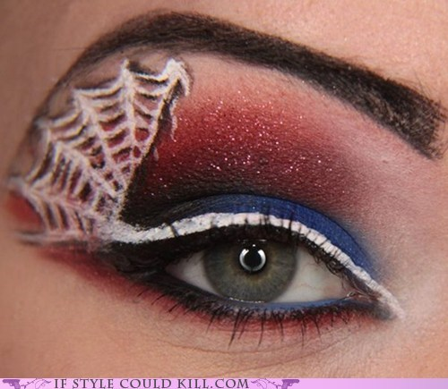 comics cool accessories eyes make up makeup Spider-Man - 6352666112