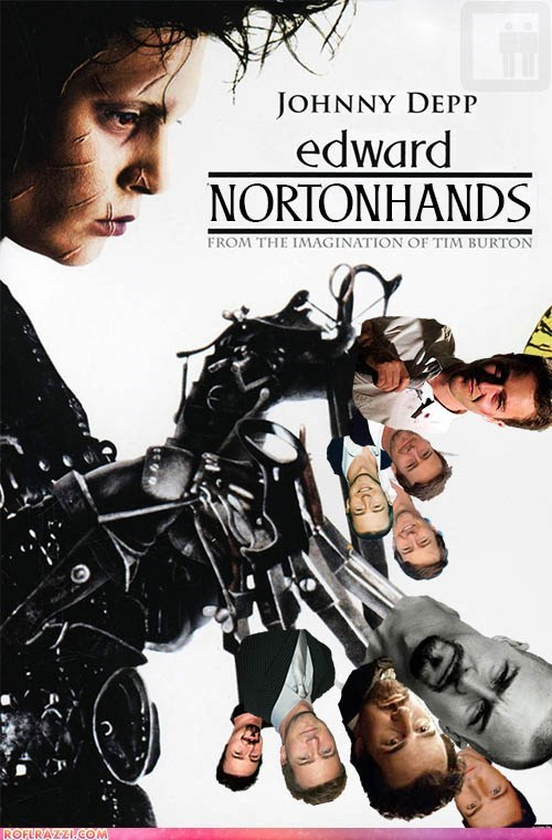 actor celeb edward norton funny Johnny Depp shoop - 6352752640