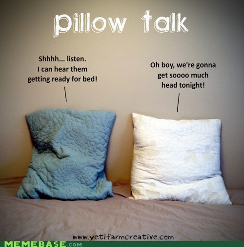 bed,Memes,pillow talk,puns,words