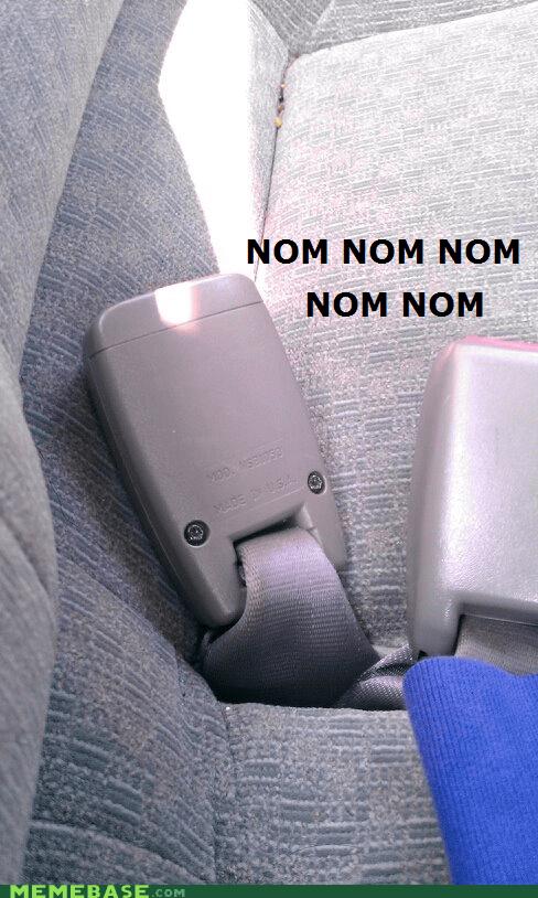 faces Memes om nom nom seatbelt - 6352868352