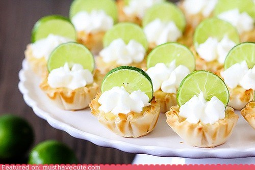 epicute,key lime,lime,tarts