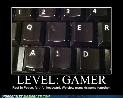 gamer keyboard PC WASD - 6352976896