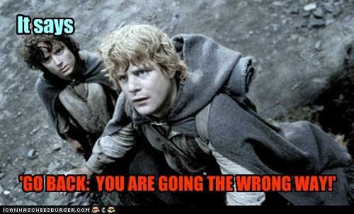 Lord of the Rings Frodo Baggins sam gamgee elijah wood sean astin sign lost - 6353212928